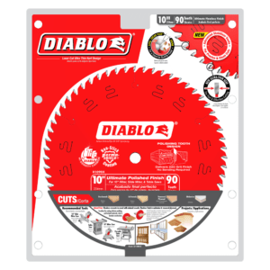D1090X_Package 10 in. x 90 Ultimate Polished Finish Saw Blade