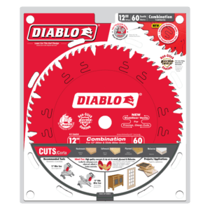 D1260X_Package Diablo 12 in. x 60 tooth combination saw blade