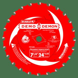 Diablo D0724DA Demo Demon 7 in.