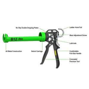 Albion B12 Manual Cartridge Caulking Gun