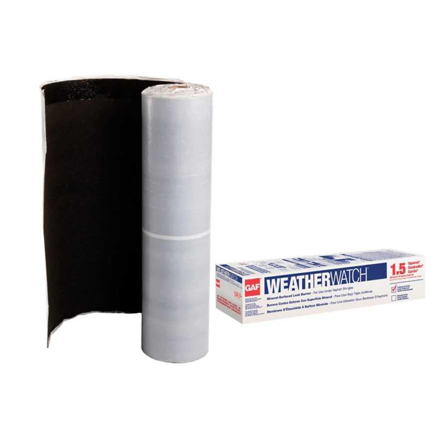 WeatherWatch® Mineral‑surfaced Leak Barrier