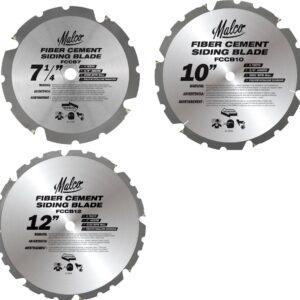 Malco Fiber Cement Saw Blades