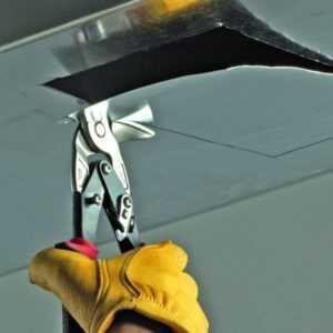 Malco Left Cutting Vertical Aviation Snip AV8