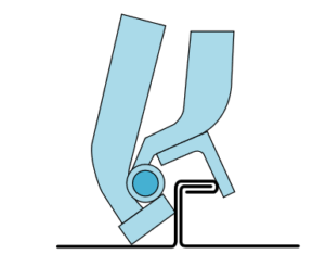 RAU 117 Double-Lock Hand Seamer _
